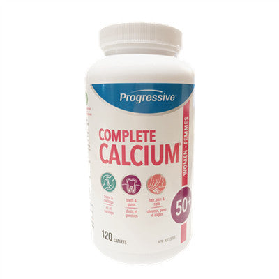 Progressive Complete Calcium For Women 50+ 120 Caplets