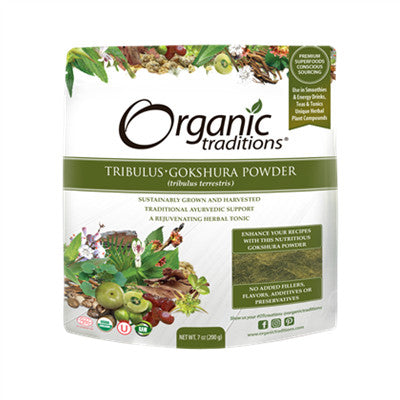 Organic Traditions Gokshura Powder (Tribulus) 200g