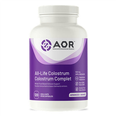 AOR All Life Colostrum 120 Capsules