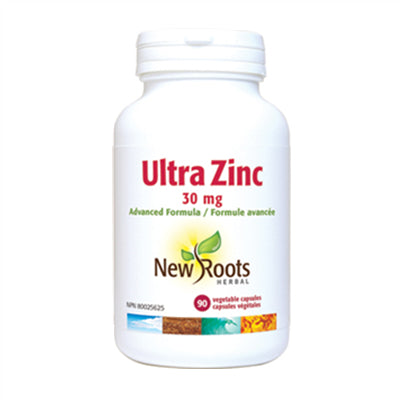 New Roots Ultra Zinc 30mg 90 Capsules