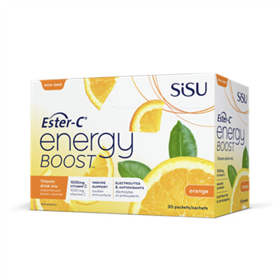 Sisu Ester C Energy Boost Orange BOX (30 packets)