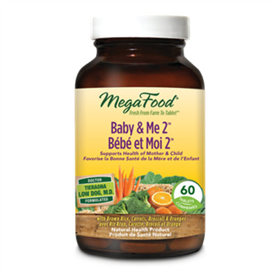 MegaFood Baby & Me 2 60 Tablets