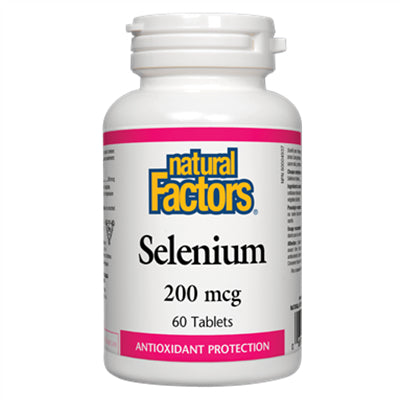 Natural Factors Selenium 200 mcg 60 Tablets