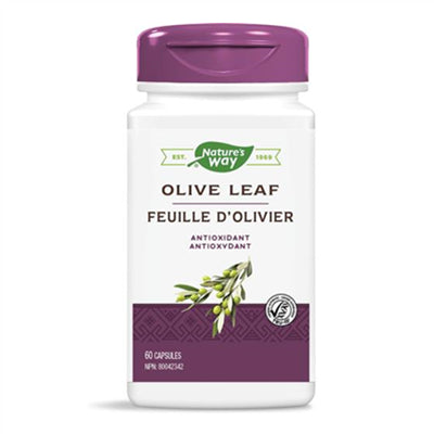 Nature's Way Olive Leaf 60 Capsules