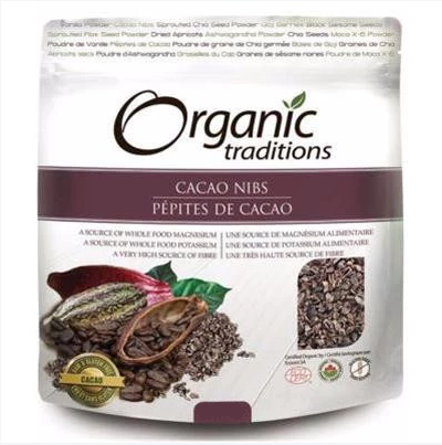 Organic Traditions® Cacao Nibs 454g