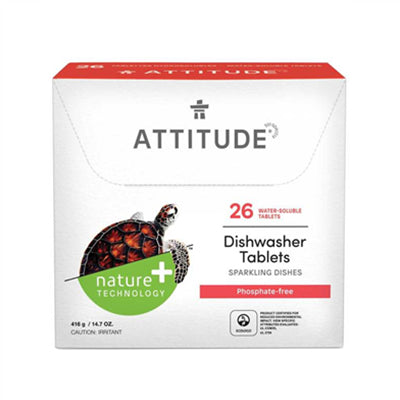 Attitude Dishwasher Detergent 26 Eco Loads