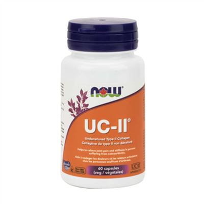 NOW UC-II Undenatured Collagen 40 mg 60 Capsules