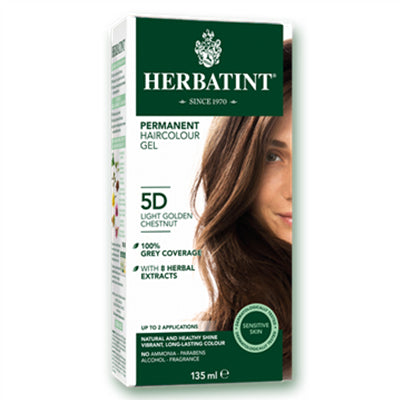 Herbatint (5D-Light Golden Chestnut) Herbal Hair Color