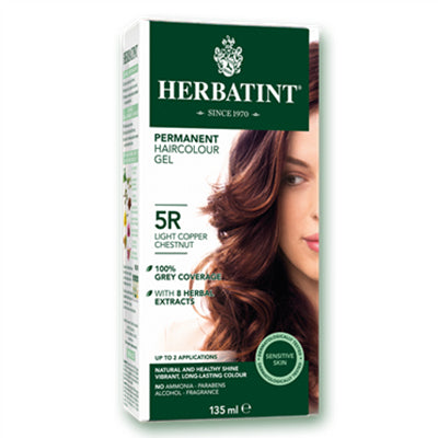 Herbatint (5R-Light Copper Chestnut) Herbal Hair Color