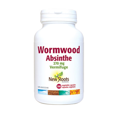 New Roots Wormwood 100 Capsules