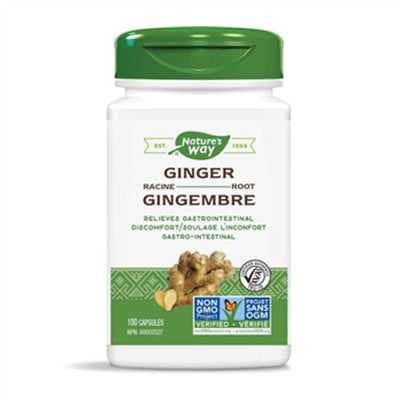Nature's Way Ginger Root 100 VCapsules