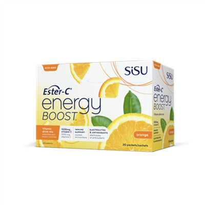 Sisu Ester C Energy Boost Lemon Lime BOX (30 packets)