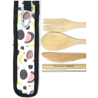 Future Reusable Bamboo Utensil Kit