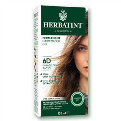 Herbatint (6D-Dark Golden Blonde) Herbal Hair Color