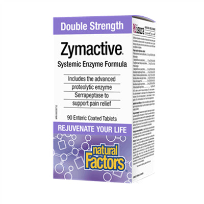 Natural Factors Zymactive® Double Strength 90 Enteric Coated Tablets