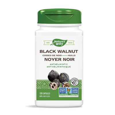 Nature's Way Black Walnut Hulls 500 mg 100 VCapsules