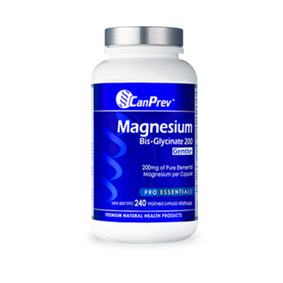 CanPrev Magnesium Bis-Glycinate 200mg Gentle 240 VCapsules