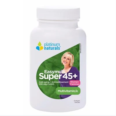 Platinum Naturals Super Easymulti® 45+ for Women 120 Softgels
