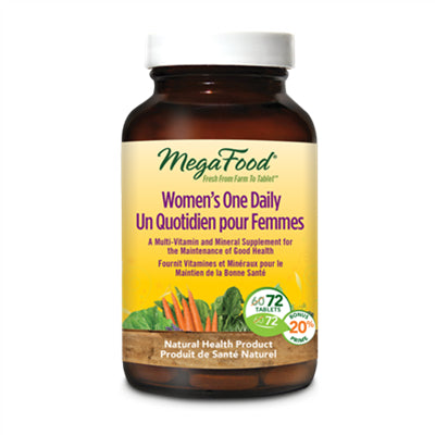 MegaFood Women's One Daily 72 Tablets