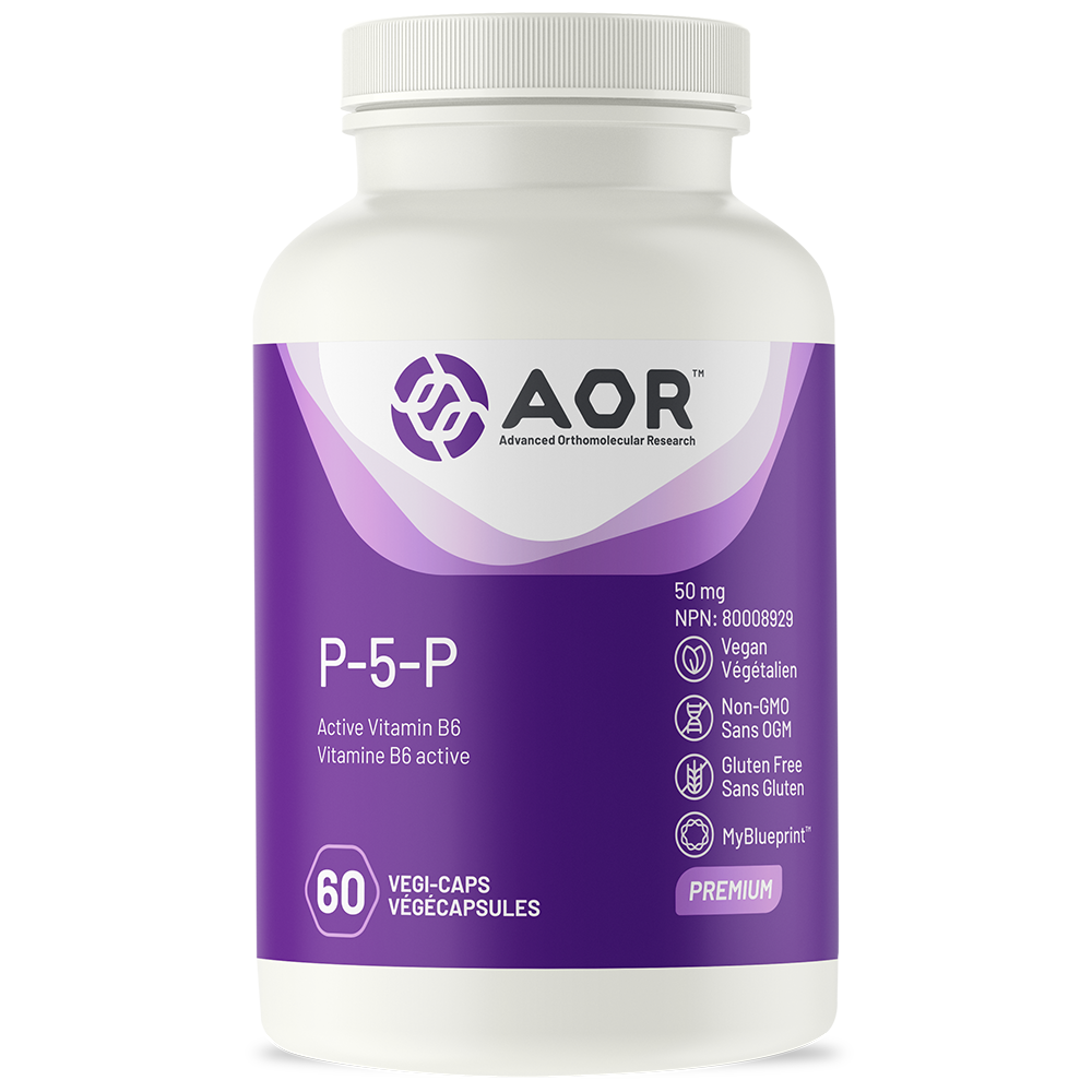AOR P-5-P 50mg 60 VCapsules