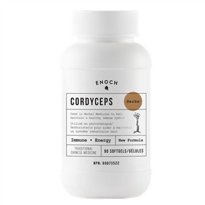 Enoch Cordyceps Extra Strength Plus 90 Softgels NEW Formula