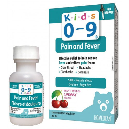 Homeocan Kids 0-9 Pain and Fever 25ml