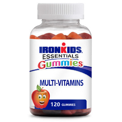 IronKids Gummies Multi-Vitamins For ACTIVE Kids 120 Gummies