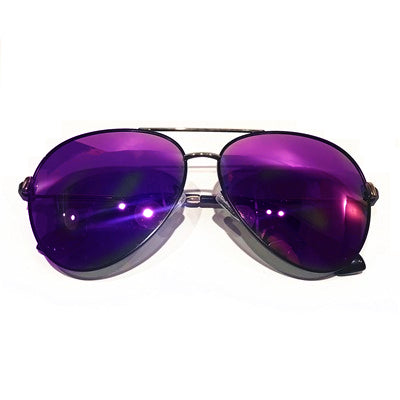 Mira Aviator Purple Lens Sunglasses