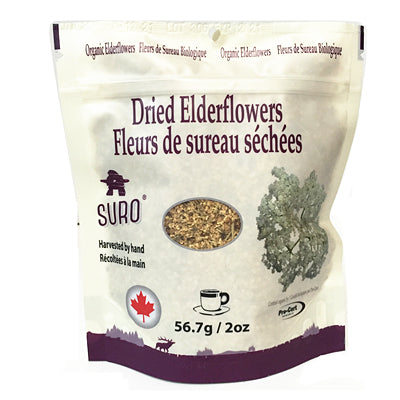 Suro Dried Organic Elderflowers 56.7g