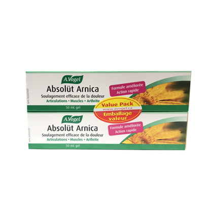 A.Vogel Absolut Arnica Duo Pack