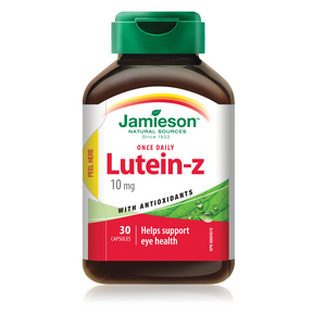 Jamieson Lutein-Z 10 mg with Antioxidants 30 Capsules