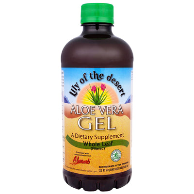 Lily of the Desert Aloe Gel Whole Leaf 946 ml