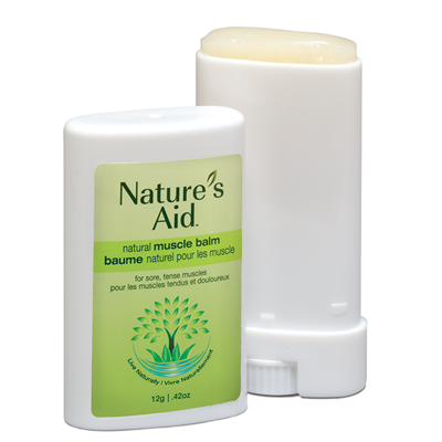 Nature's Aid All Natural Muscle Balm 12g