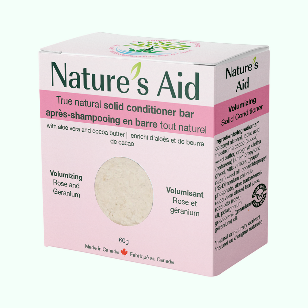 Nature's Aid Rose & Geranium Solid Conditioner Bar