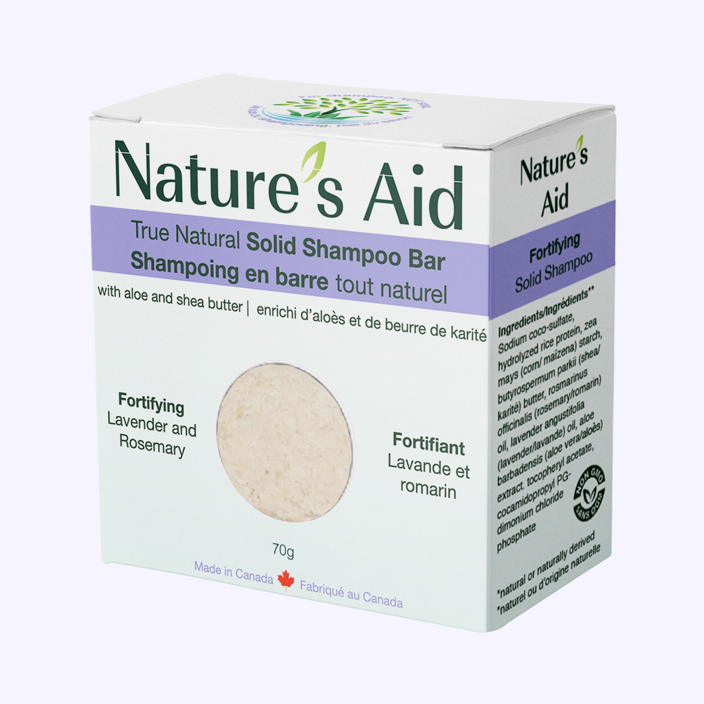 Nature's Aid Lavender & Rosemary Solid Shampoo Bar