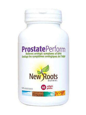 New Roots Prostate Perform 60 Softgels