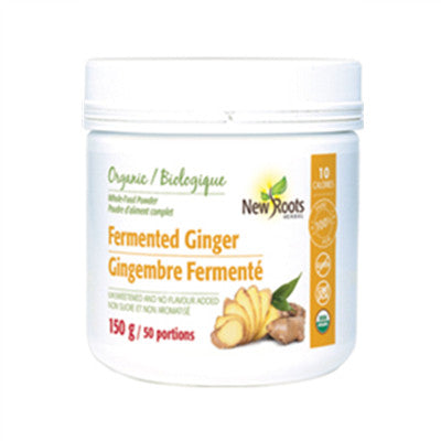 New Roots Organic Fermented Ginger 150g