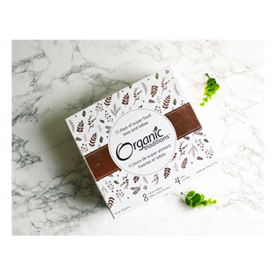 Organic Traditions 12 Days of Super Food Gift Box