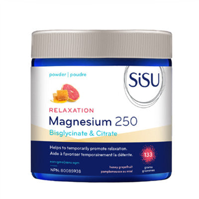 Sisu Relaxation Magnesium 250 Honey Grapefruit 133g