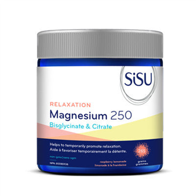 Sisu Relaxation Magnesium 250 Raspberry Lemonade 265g