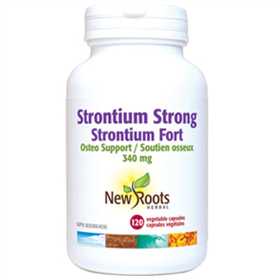 New Roots Strontium Strong 340mg 120 VCapsules