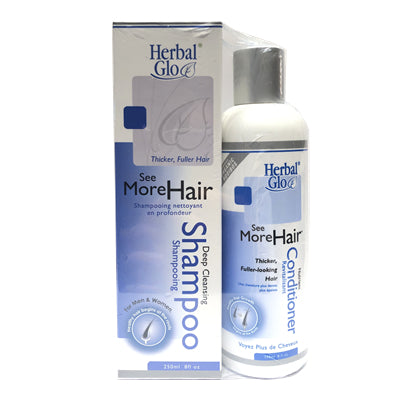 Herbal Glo See More Hair Shampoo + Conditioner Duo