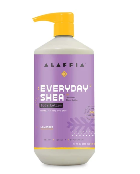 Alaffia Lavender Shea & Lemongrass Body Lotion 950ml