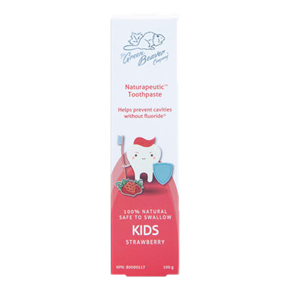 Green Beaver Kids Toothpaste Strawberry 100g