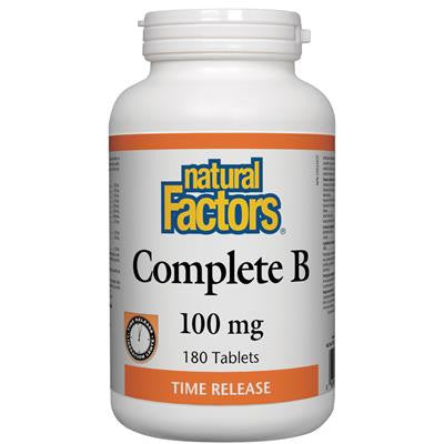 Natural Factors Complete B 100mg Time Release