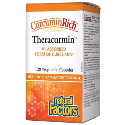 Natural Factors CurcuminRich Theracurmin 30 mg 120 VCapsules