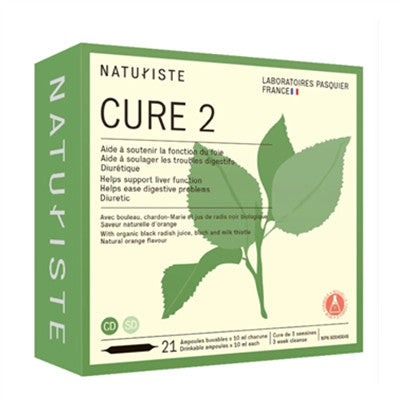 Naturiste Cure 2, 3 Week Cleanse 21 Vials