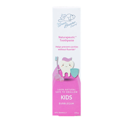 Green Beaver Kids Toothpaste Bubblegum 100g