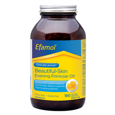 Efamol Pure Evening Primrose Oil 1000 mg 180 Softgels