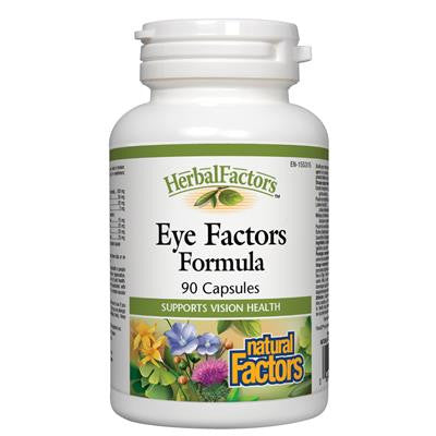 Natural Factors HerbalFactors® Eye Factors Formula 90 Capsules